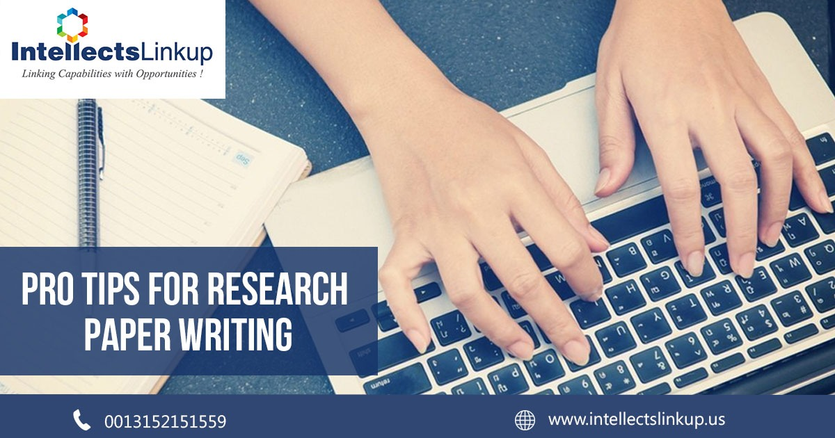 Pro tips for Research Paper Writing